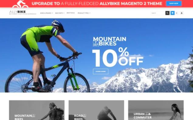 allybike-theme-free