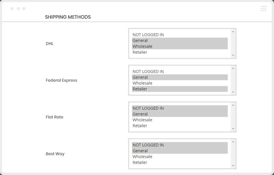 1.shipping-per-customer-group-magento-b2b-extension