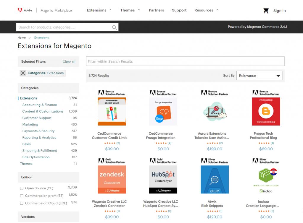 magento-marketplace | magento vs opencart