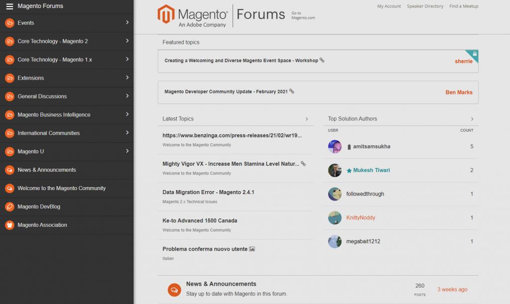 magento-forums