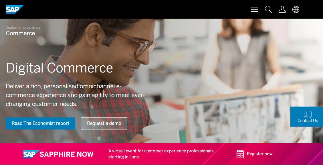 B2B wholesale platform - SAP Commerce Cloud