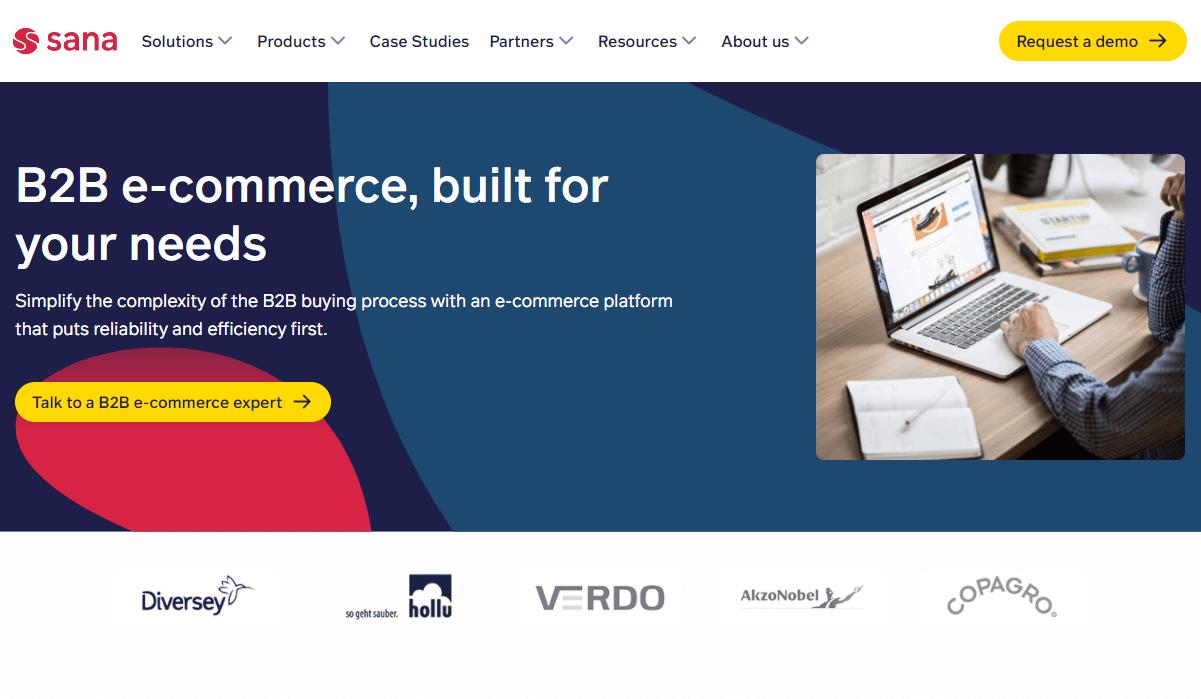 B2B wholesale platform - Sana Commerce