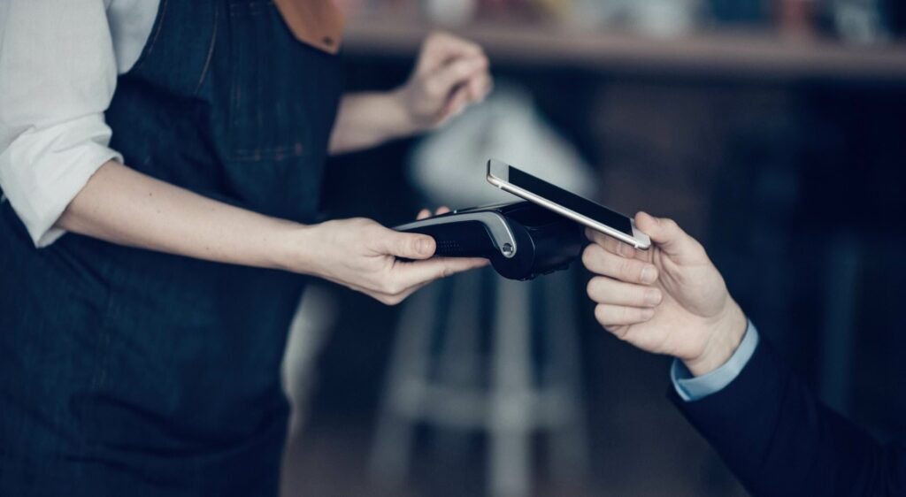 More and more retails accept touch-free payment methods