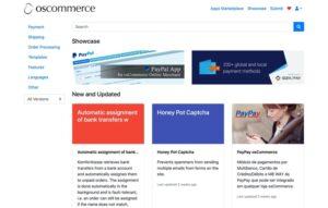 OsCommerce Marketplace