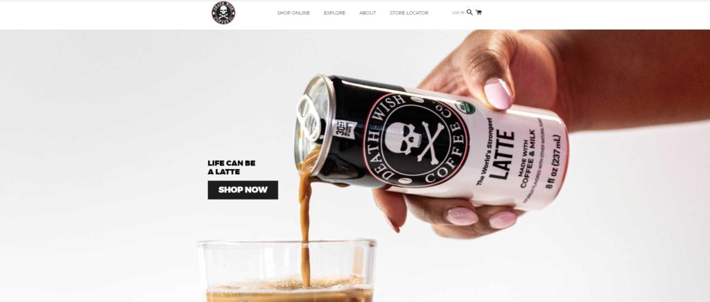 shopify-b2b-examples-death-wish-coffee