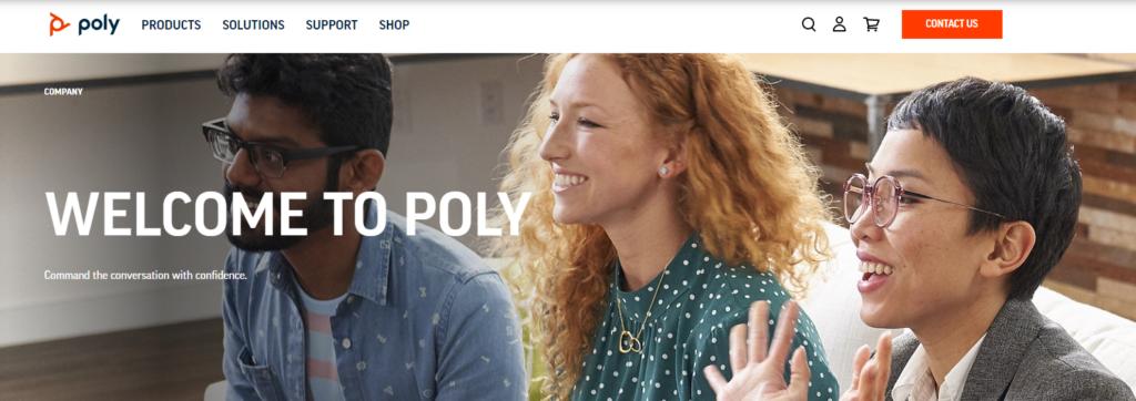 shopify-b2b-examples-polycom
