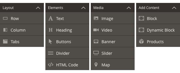 page-builder-menu