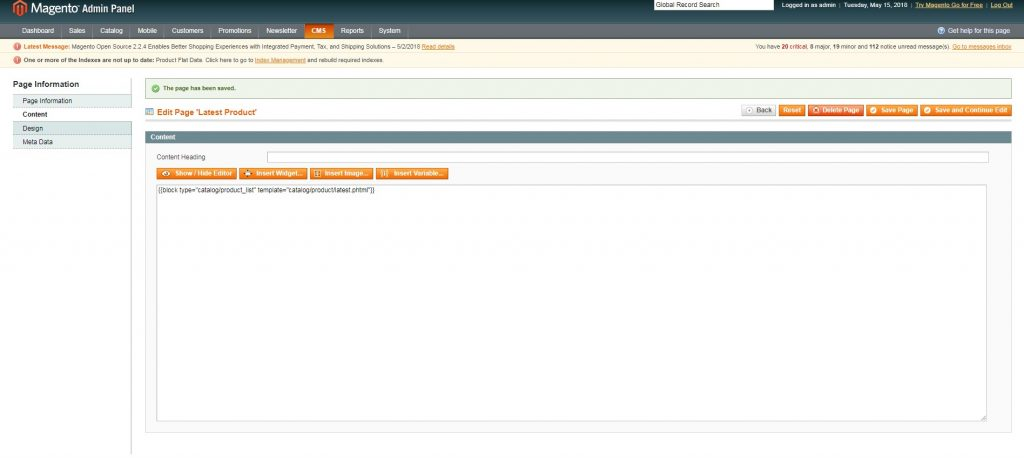 How to Display Latest Products in Magento 1