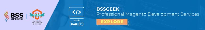 BSS Geek Magento Web Development Agency