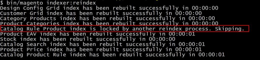 indexers get locked