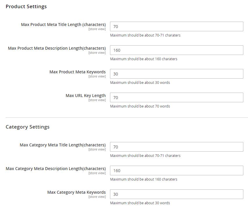 Make configuration for the module