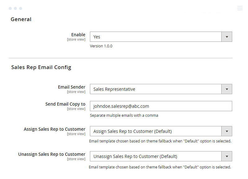 enable-sales-rep-and-setup-email-notifications