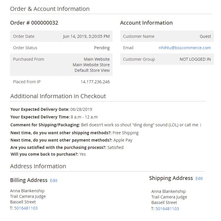 Additional-fields-order-information