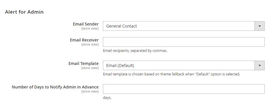 Alert Maintenance Page End Time