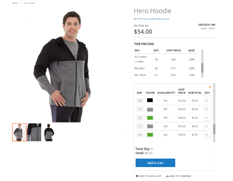magento-2-front-grid-configurable-product