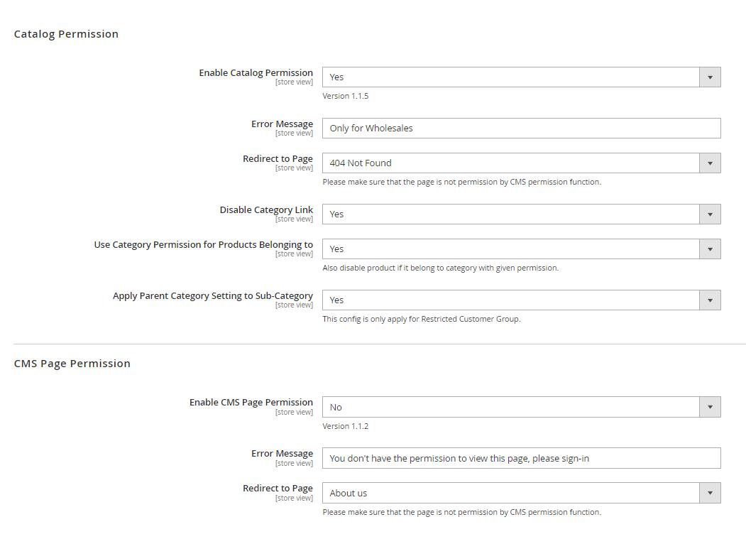 magento-2-catalog-permission-general-settings