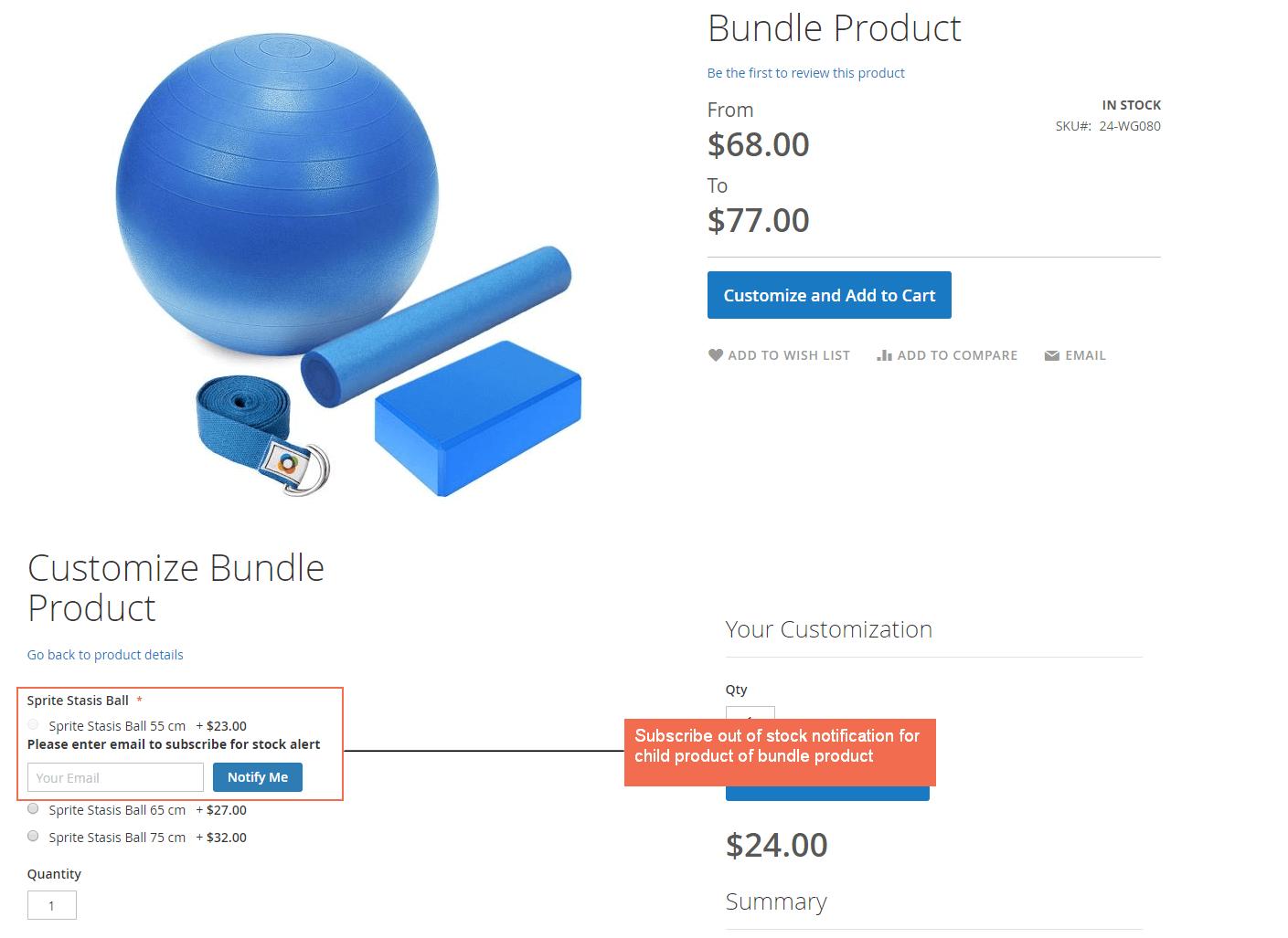 demo bundle product