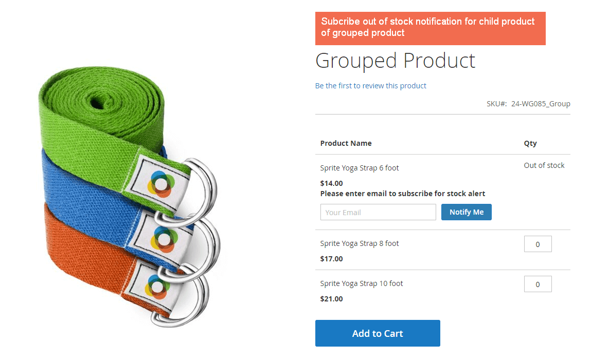 grouped product demo