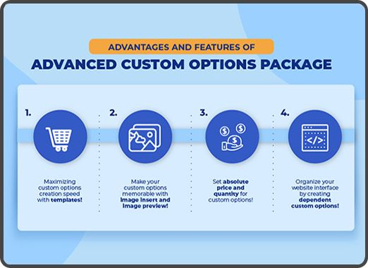 Magento 2 Advanced Custom Options Package