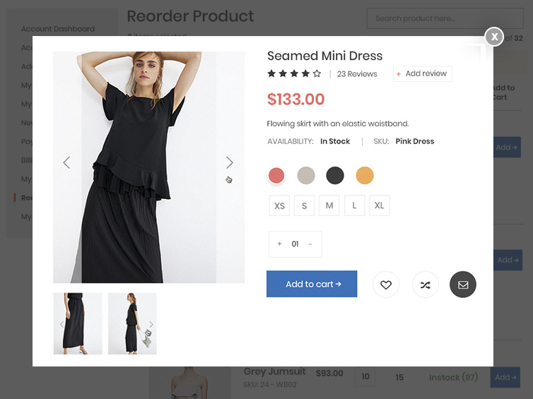 Reorder-configurable-product-Quick-View