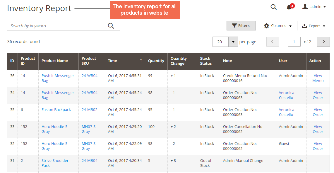 Log-all-changes-in-product-quantity-magento-2-inventory-report-extension