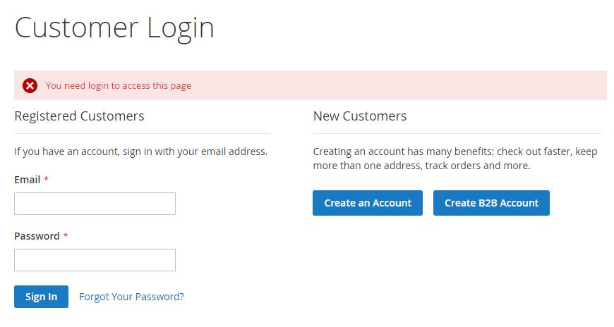 magento-business-login