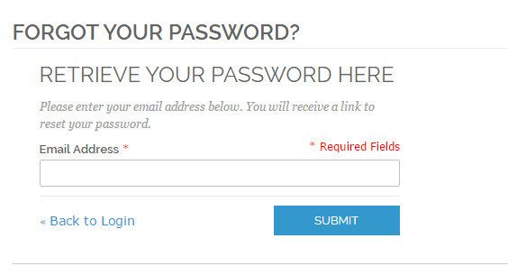 Magento social login- support forgot passwaord page