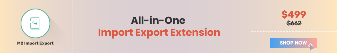 Import export extension magento 2