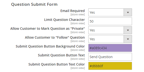 magento 2 product questions edit question submit form