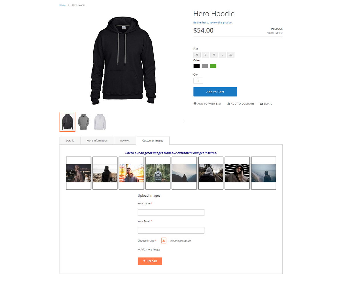 BSS Product Images by Customer for Magento 2