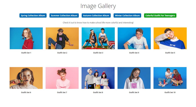 magento 2 image gallery-ajax