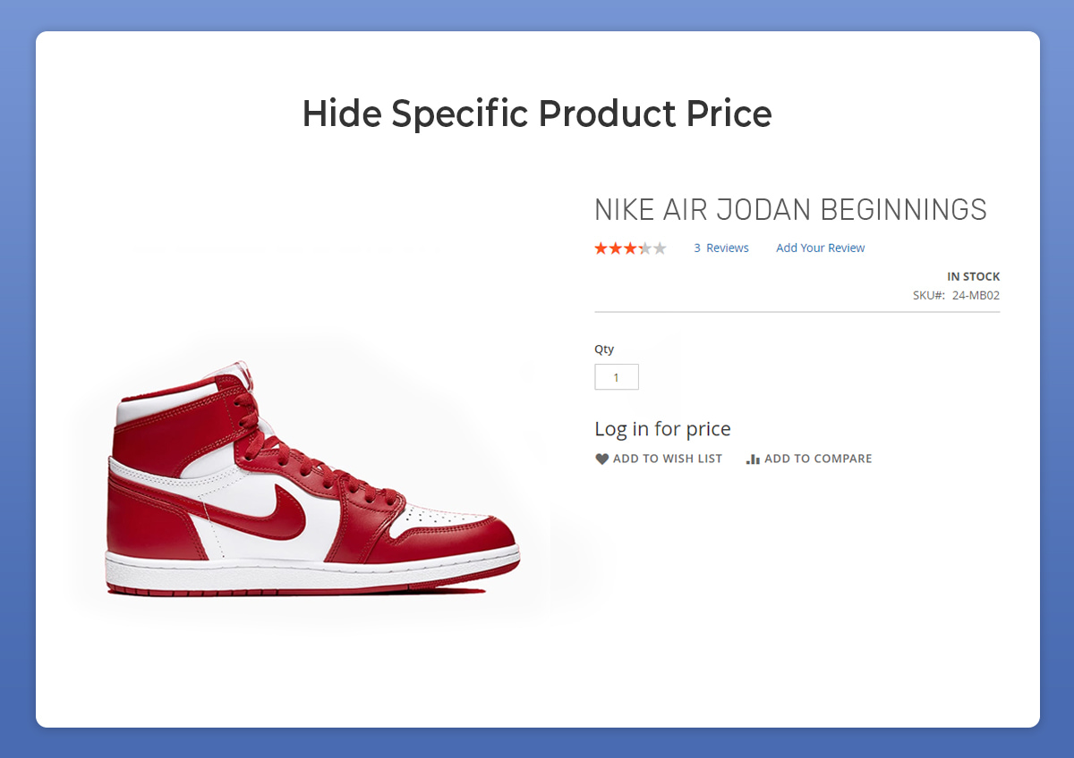 magento 2 hide product price