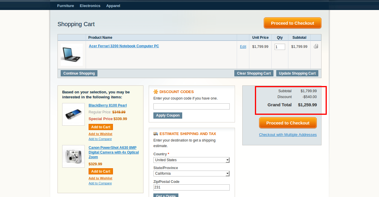 Magento Customer Group Without Tax Extension Enable
