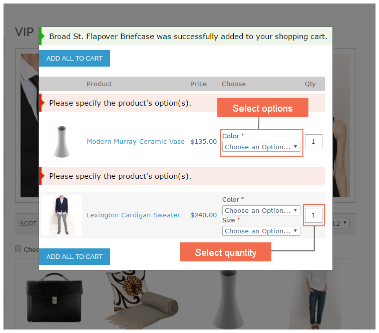 add-multiple-products-to-cart-magento-ajax-popup