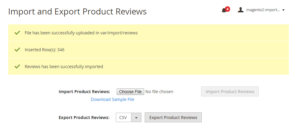 message-magento-2-import-export-product-reviews-extension