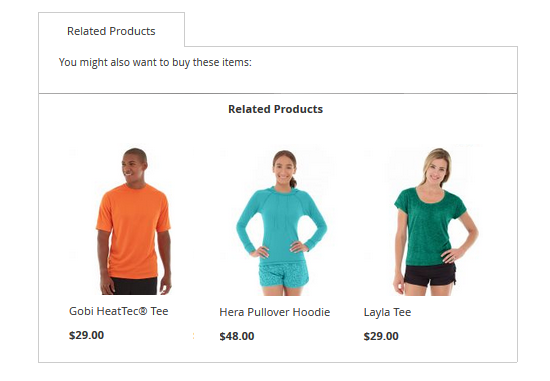magento display product recommendation 2