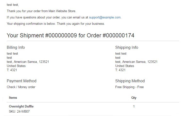 magento 2 create invoice automatically-shipment emails to customer