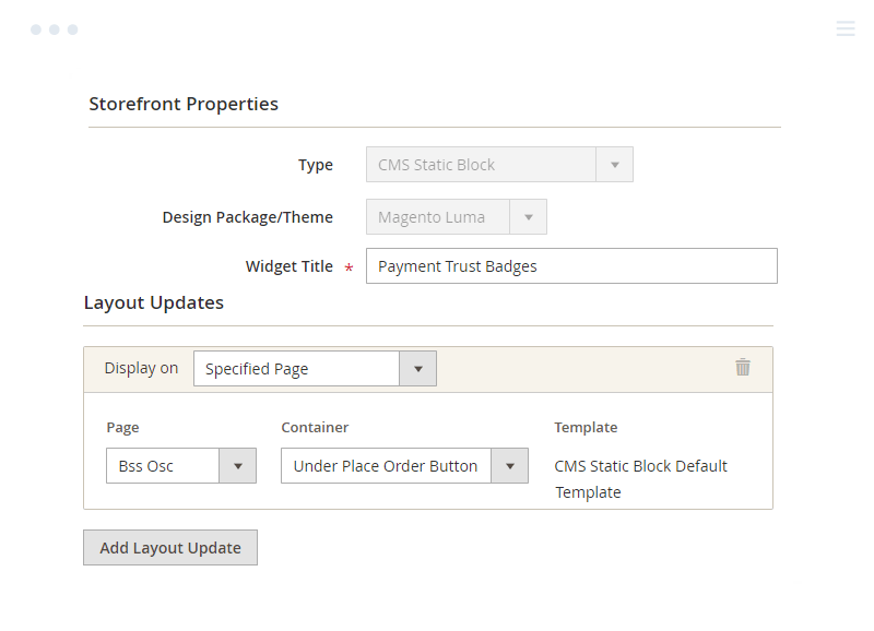 Add payment trust badges to Magento 2 Checkout