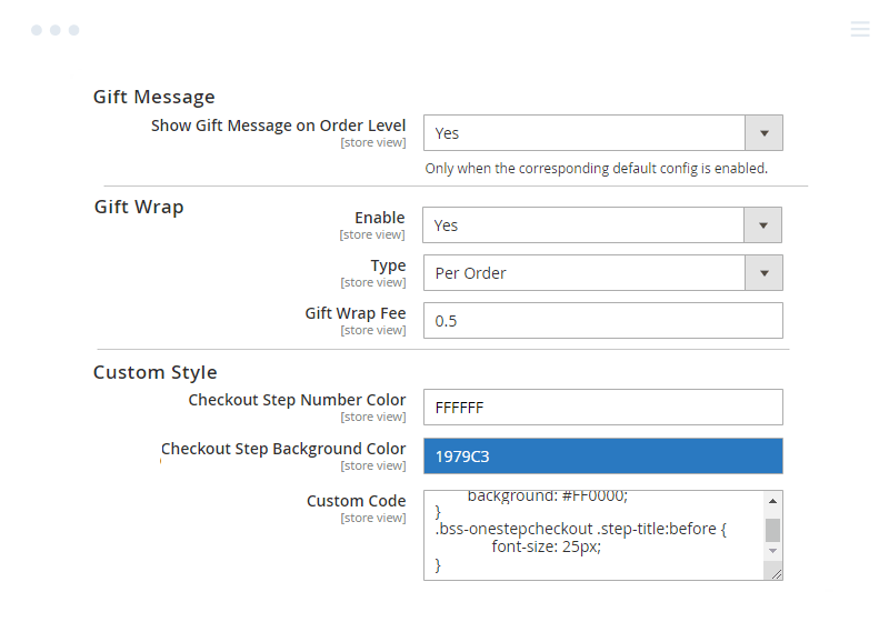 Set gift message at Magento 2 Checkout