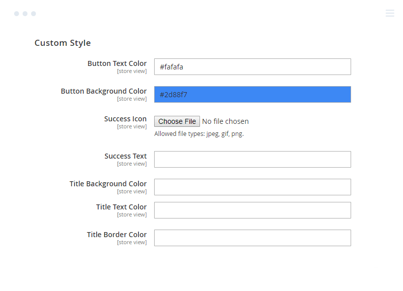 Custom Style of Magento 2 Checkout Success Page