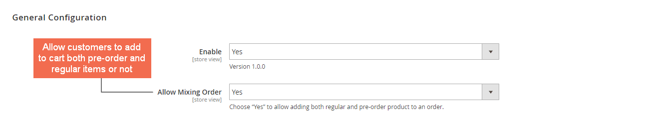 Allow mixing both regular and pre-order items in an order or not
