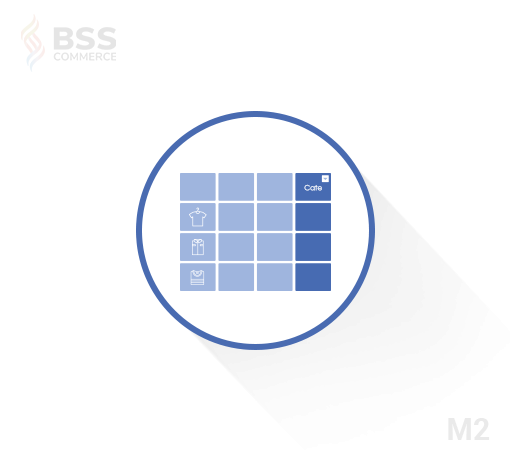 magento 2 product grid with category
