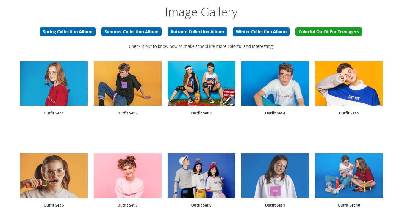 Magento 2 Gallery extension displays of Gallery album in Ajax layout