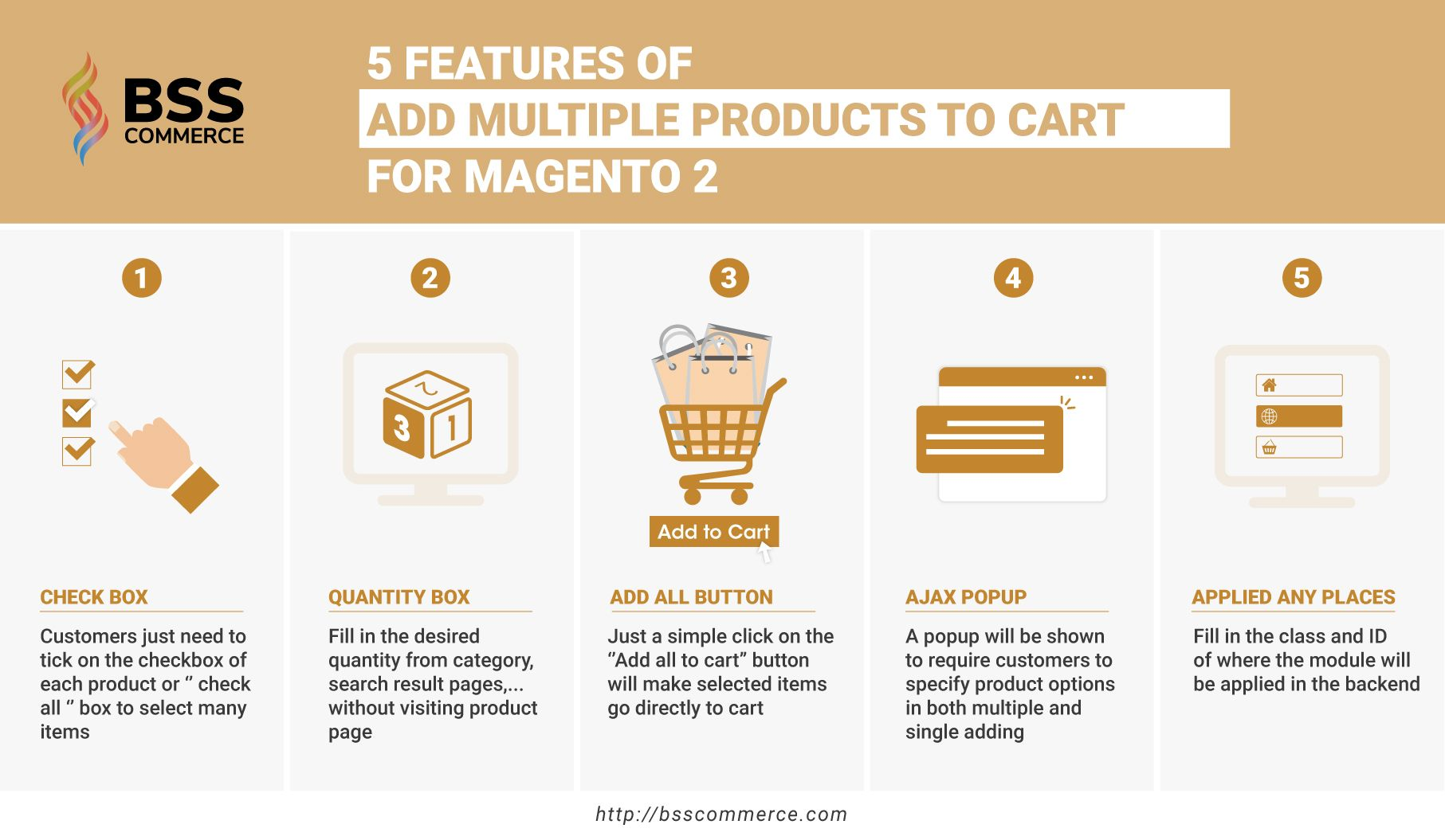 5 Features of Magento 2 Add Multiple Products To Cart