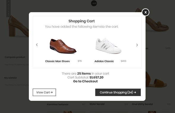 magento 2 B2B suite success popup