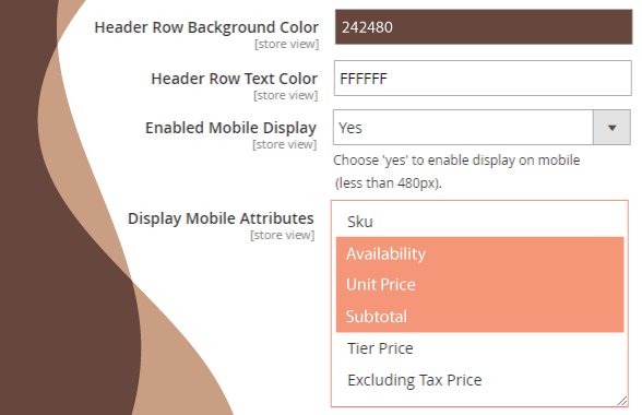 magento 2 b2b demo configurable display