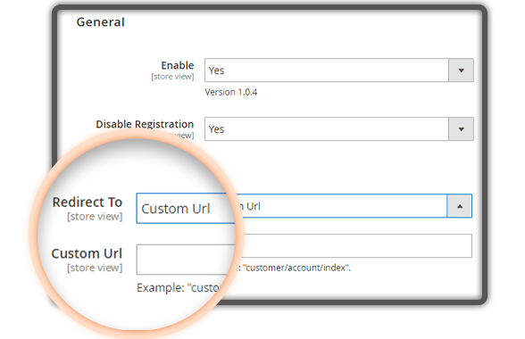 Redirect customers after Magento 2 B2B extension force login