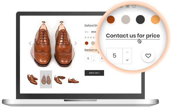hide price Magento 2 wholesale extension