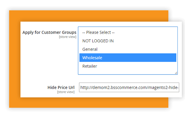 hide-price-magento-wholesale-extension-demo-settings