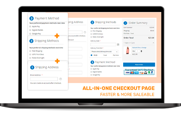 All-in-one Magento 2 One Page Checkout